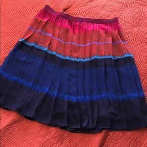 Pleated spring skirt!